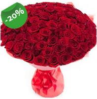 Özel mi Özel buket 101 adet kırmızı gül  İstanbul ucuz çiçek gönder