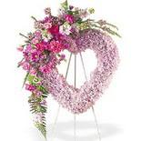 kalp içerisinde mevsim çiçekleri   İstanbul çiçek gönderme sitemiz güvenlidir