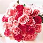 11 adet renkli gül buketi   İstanbul çiçek siparişi sitesi