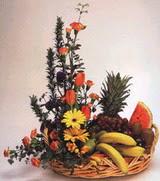 sepet  ve  meyva  sepeti   İstanbul anneler günü çiçek yolla