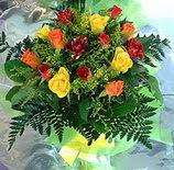 13 adet karisik gül buketi demeti   İstanbul çiçek satışı