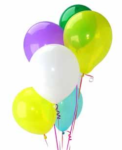 İstanbul cicekciler , cicek siparisi  Sevdiklerinize 17 adet uçan balon demeti yollayin.