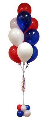 İstanbul kaliteli taze ve ucuz çiçekler  Sevdiklerinize 17 adet uçan balon demeti yollayin.