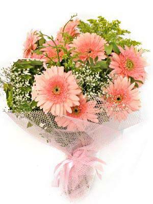 İstanbul çiçek online çiçek siparişi  11 adet gerbera çiçegi buketi