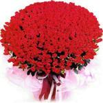 İstanbul online çiçek gönderme sipariş  1001 adet kirmizi gülden çiçek tanzimi