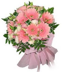 İstanbul çiçekçi telefonları  Karisik mevsim çiçeklerinden demet