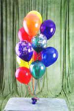 İstanbul çiçek gönderme  19 adet uçan balon demeti balonlar