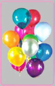 İstanbul çiçek yolla  15 adet karisik renkte balonlar uçan balon