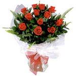 İstanbul çiçek servisi , çiçekçi adresleri  9 adet güzel bir gül buketi