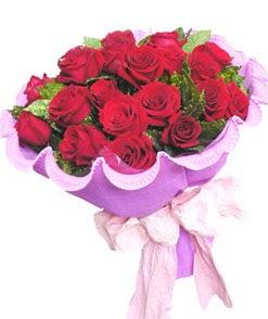 12 adet kırmızı gülden görsel buket  İstanbul güvenli kaliteli hızlı çiçek