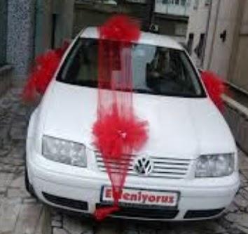 İstanbul çiçek mağazası , çiçekçi adresleri  çiçeksiz gelin arabası süslemesi