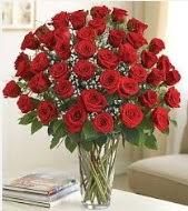 Cam vazoda 51 kırmızı gül süper indirimde  İstanbul çiçek satışı