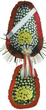 Çift katlı düğün açılış çiçeği  İstanbul çiçek siparişi sitesi