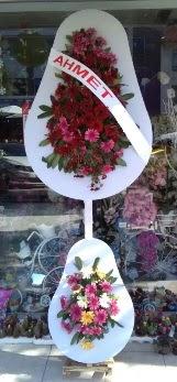Çift katlı düğün nikah çiçeği  İstanbul internetten çiçek satışı
