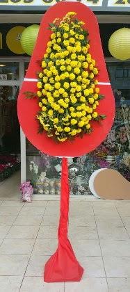 İstanbul çiçek yolla  Tek katlı düğün nikah çiçeği