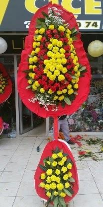 Çift katlı düğün nikah açılış çiçeği  İstanbul ucuz çiçek gönder