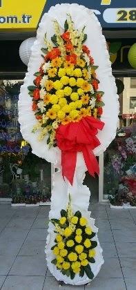 Çift katlı düğün nikah açılış çiçeği  İstanbul internetten çiçek siparişi