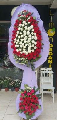Çift katlı işyeri açılış çiçek modeli  İstanbul çiçek mağazası , çiçekçi adresleri