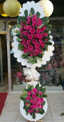 Çift katlı nikah çiçek düğün çiçekleri  İstanbul çiçek mağazası , çiçekçi adresleri
