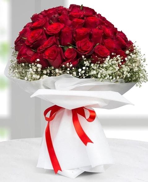 41 adet kırmızı gül buketi  İstanbul çiçek online çiçek siparişi  süper görüntü