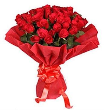 41 adet gülden görsel buket  İstanbul çiçek online çiçek siparişi
