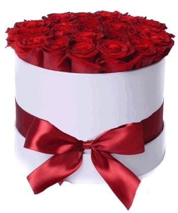 33 adet kırmızı gül özel kutuda kız isteme   İstanbul çiçek yolla , çiçek gönder , çiçekçi